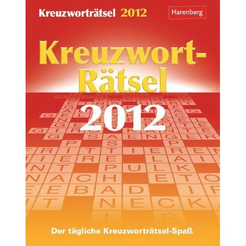 Harenberg - Kreuzworträtsel 2012: Der tägliche Kreuzworträtsel-Spaß - Preis vom 11.04.2021 04:47:53 h