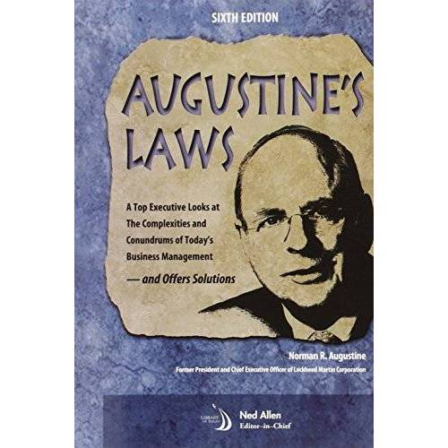 Augustine, Norman R. - Augustine's Laws, Sixth Edition - Preis vom 27.02.2021 06:04:24 h