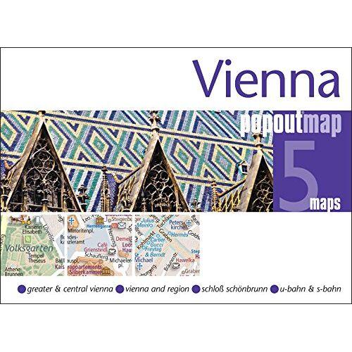 Popout Maps - Vienna PopOut Map (Popout Maps) - Preis vom 24.01.2021 06:07:55 h