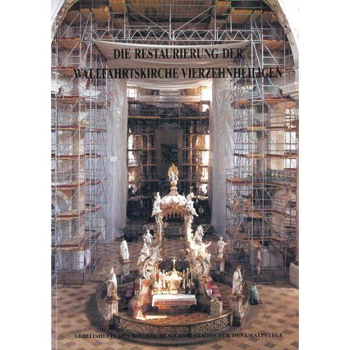 Autorenkollektiv - AH 49 - Die Restaurierung der Wallfahrtskirche Vierzehnheiligen 1 Textband, 1 Bildband - Preis vom 07.05.2021 04:52:30 h