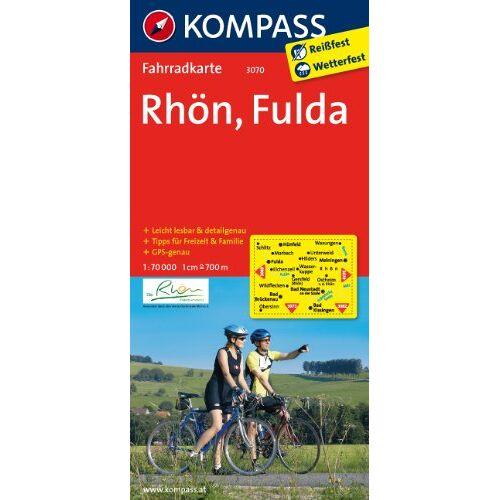 - Rhön - Fulda: Fahrradkarte. GPS-genau. 1:70000 (KOMPASS-Fahrradkarten Deutschland) - Preis vom 28.02.2021 06:03:40 h