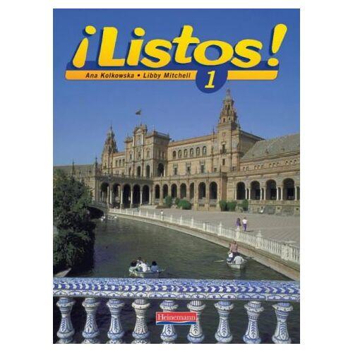 Ana Kolkowska - Listos! 1 Pupils Book (Listos for 11-14) - Preis vom 13.05.2021 04:51:36 h