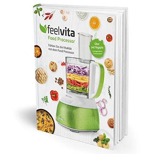- Genius Feelvita Food Processor Rezeptbuch Shales Gesundheit Gesundheit & Vitalität Ernährung Fitness - Ideal für Ihre Feelvita-Produkte - Preis vom 16.04.2021 04:54:32 h