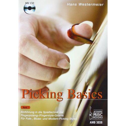 Hans Westermeier - Picking Basics, m. Audio-CD - Preis vom 24.02.2021 06:00:20 h