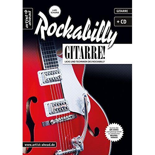 Lars Schurse - Rockabilly-Gitarre: Licks und Techniken des Rockabilly (inkl. Audio-CD). Musiknoten für E-Gitarre. - Preis vom 06.09.2020 04:54:28 h