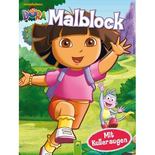 - Dora - Malblock mit Kulleraugen - Preis vom 06.04.2020 04:59:29 h