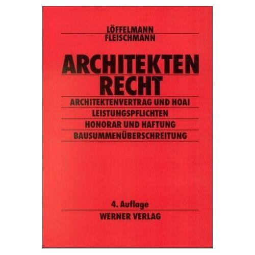 Peter Löffelmann - Architektenrecht - Preis vom 18.04.2021 04:52:10 h