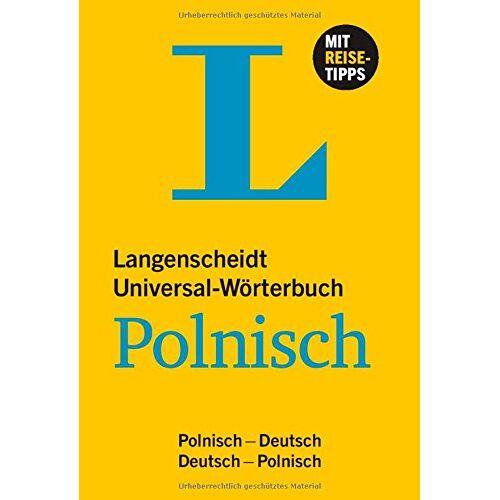 - Langenscheidt Universal-Wörterbuch Polnisch: Polnisch-Deutsch/Deutsch-Polnisch (Langenscheidt Universal-Wörterbücher) - Preis vom 24.10.2020 04:52:40 h