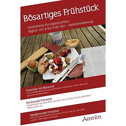 Wolf, Arthur Gordon - Bösartiges Frühstück: Frühstück-Anthologie Band 1 - Preis vom 13.02.2020 06:03:59 h