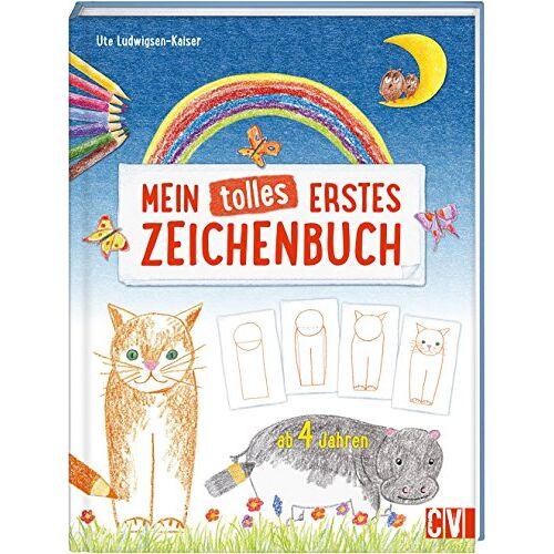Ute Ludwigsen-Kaiser - Mein tolles erstes Zeichenbuch: ab 4 Jahren - Preis vom 01.12.2019 05:56:03 h