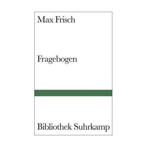 Max Frisch - Fragebogen - Preis vom 05.09.2020 04:49:05 h
