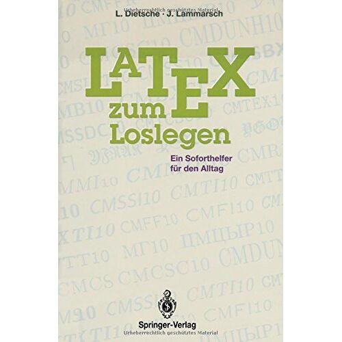 Luzia Dietsche - Latex zum Loslegen: Ein Soforthelfer für den Alltag - Preis vom 05.05.2021 04:54:13 h