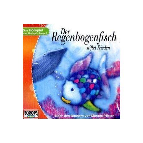 Marcus Pfister - Der Regenbogenfisch - CD / Der Regenbogenfisch stiftet Frieden - Preis vom 14.04.2021 04:53:30 h