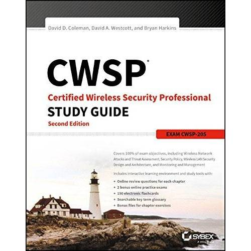 Coleman, David D. - CWSP Certified Wireless Security Professional Study Guide: Exam CWSP-205 - Preis vom 15.07.2020 04:54:51 h