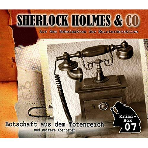 Sherlock Holmes & Co - Sherlock Holmes & Co-die Krimi Box 7 (3cd) - Preis vom 19.01.2021 06:03:31 h