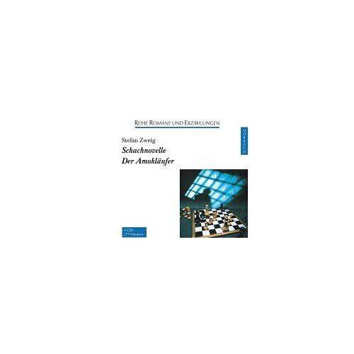 Stefan Zweig - Schachnovelle / Der Amokläufer. 4 CDs. - Preis vom 16.04.2021 04:54:32 h