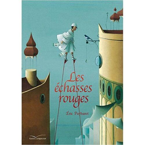 Eric Puybaret - Les échasses rouges - Album grand format (avec affiche) - Preis vom 05.09.2020 04:49:05 h