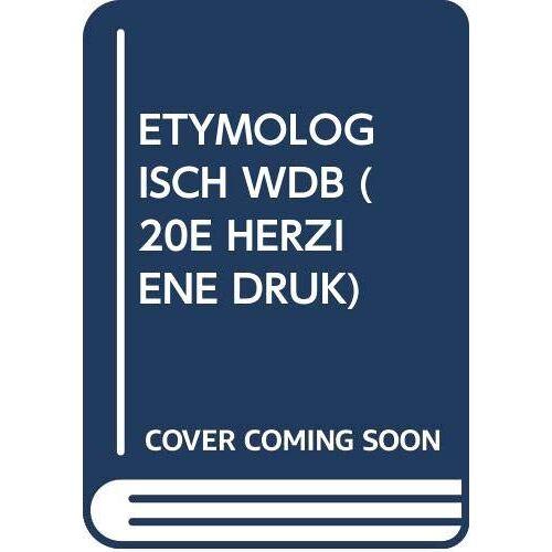 De Vries - ETYMOLOGISCH WDB (20E HERZIENE DRUK) - Preis vom 05.09.2020 04:49:05 h