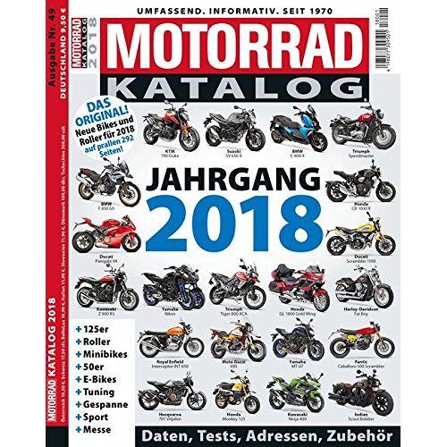 - Motorrad-Katalog 2018 - Preis vom 26.01.2020 05:58:29 h