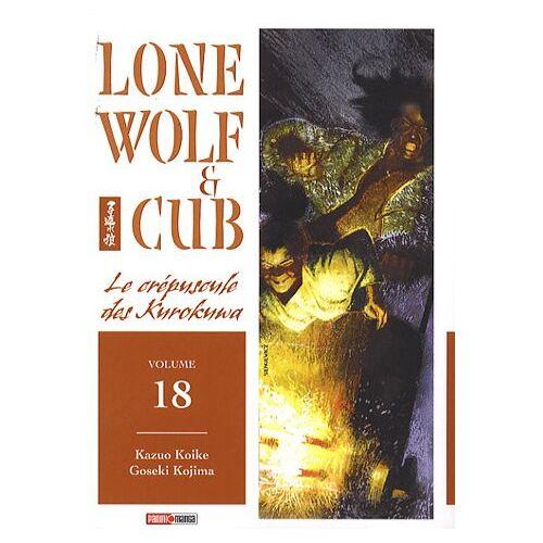Kazuo Koike - Lone Wolf & Cub, Tome 18 : Le crépuscule des Kurokuwa - Preis vom 06.05.2021 04:54:26 h