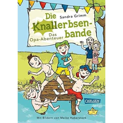 Sandra Grimm - Die Knallerbsenbande: Das Opa-Abenteuer - Preis vom 20.10.2020 04:55:35 h