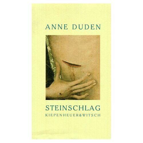 Anne Duden - Steinschlag - Preis vom 03.05.2021 04:57:00 h