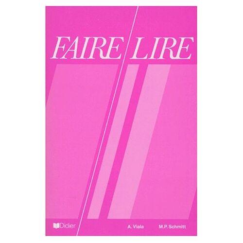 A Viala - FAIRE LIRE. Edition 1986 - Preis vom 20.10.2020 04:55:35 h