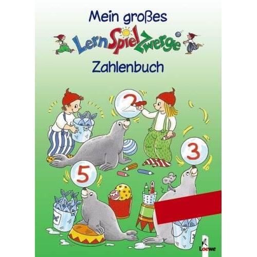 Ulrike Düring - Mein großes LernSpielZwerge Zahlenbuch: Spielend leicht in die 1.Klasse - Preis vom 06.05.2021 04:54:26 h