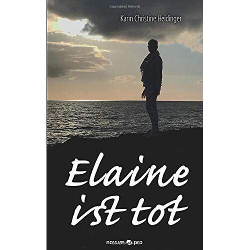 Heidinger, Karin Christine - Elaine ist tot - Preis vom 13.05.2021 04:51:36 h