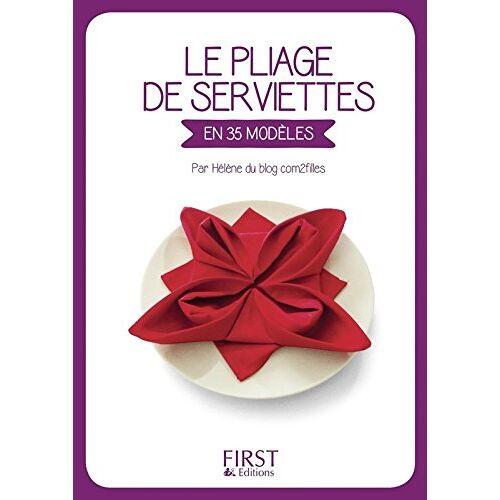 Com2filles - Le pliage de serviettes - Preis vom 20.10.2020 04:55:35 h