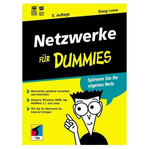 Doug Lowe - Netzwerke für Dummies - Preis vom 13.08.2020 04:48:24 h