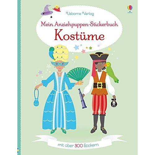 Emily Bone - Mein Anziehpuppen-Stickerbuch: Kostüme - Preis vom 20.10.2020 04:55:35 h