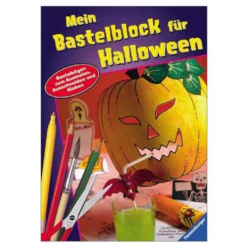 - Spiel- und Bastelblocks: Mein Bastelblock für Halloween - Preis vom 09.04.2021 04:50:04 h