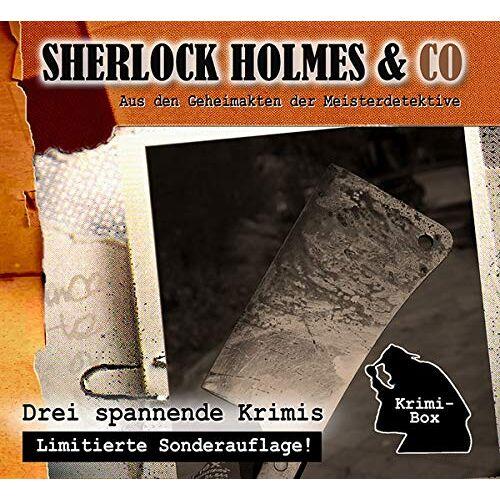 Sherlock Holmes & Co - Sherlock Holmes & Co-die Krimi Box 9 (3cd) - Preis vom 14.01.2021 05:56:14 h