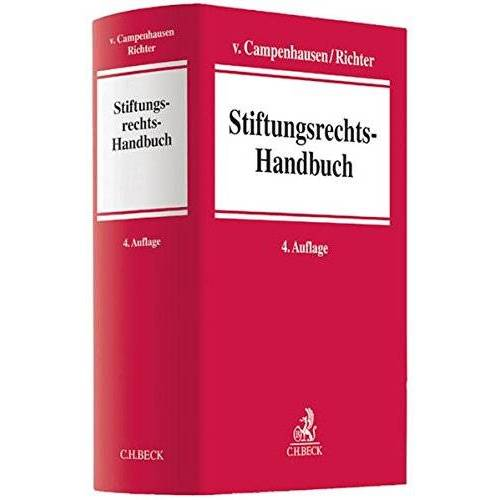 Andreas Richter - Stiftungsrechts-Handbuch - Preis vom 20.10.2020 04:55:35 h