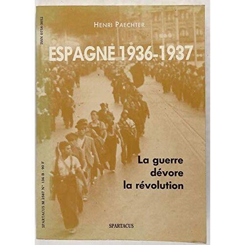 Paechter - Espagne 1936-1937 - Preis vom 28.02.2021 06:03:40 h