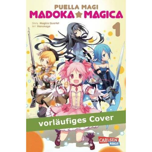 Magica Quartet - Puella Magi Madoka Magica, Band 1 - Preis vom 17.10.2019 05:09:48 h