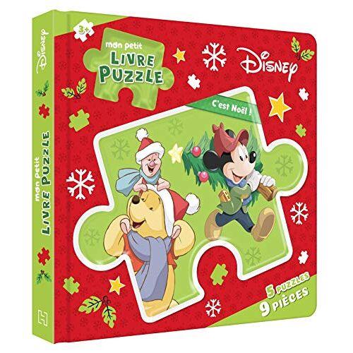 - DISNEY - Mon Petit Livre Puzzle - 5 Puzzles 9 Pièces - C'est Noël !: C'est Nöel ! - Preis vom 03.05.2021 04:57:00 h