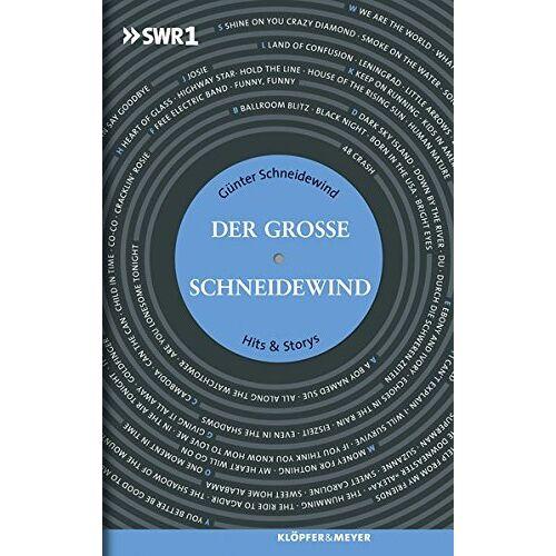 Günter Schneidewind - Der Große Schneidewind: Hits & Storys - Preis vom 08.05.2021 04:52:27 h