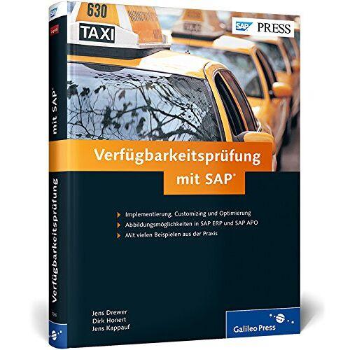 Jens Drewer - Verfügbarkeitsprüfung mit SAP (SAP PRESS) - Preis vom 19.01.2021 06:03:31 h