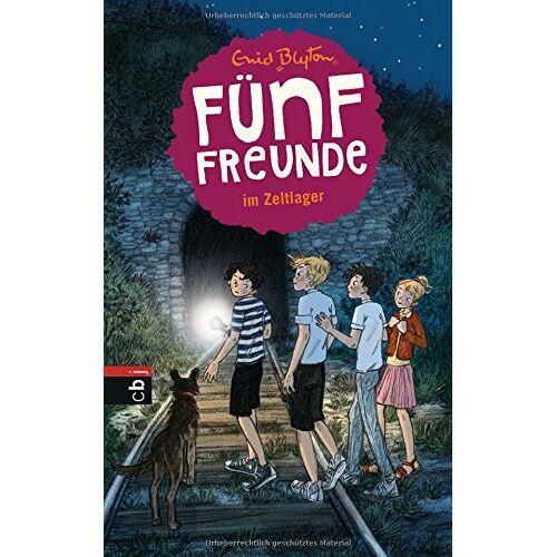 Enid Blyton - Fünf Freunde im Zeltlager (Einzelbände, Band 7) - Preis vom 10.09.2020 04:46:56 h
