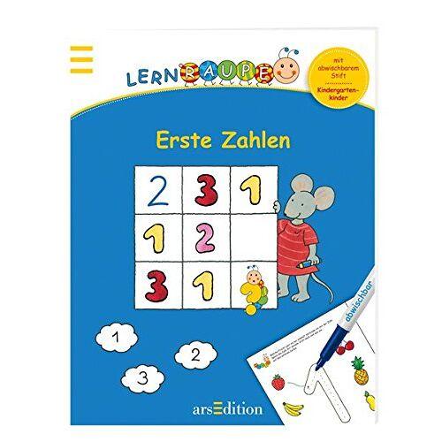 - Lernraupe - Erste Zahlen: Mit abwischbarem Stift - Preis vom 25.02.2021 06:08:03 h