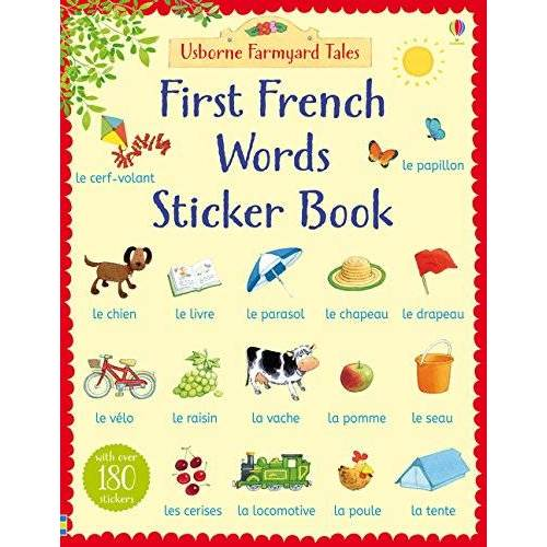 Heather Amery - Farmyard Tales First French Words Sticker Book (Farmyard Tales First Words Sticker) - Preis vom 17.04.2021 04:51:59 h