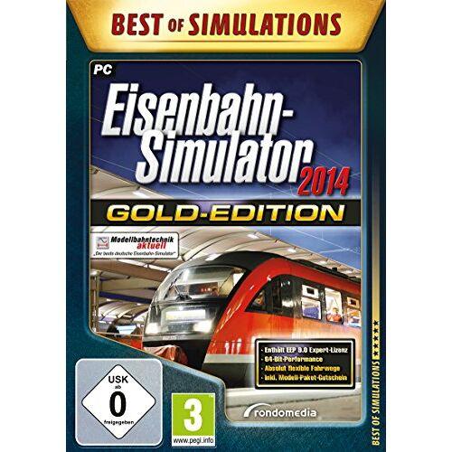Rondomedia - Eisenbahn-Simulator 2014: Gold-Edition - Preis vom 19.06.2021 04:48:54 h