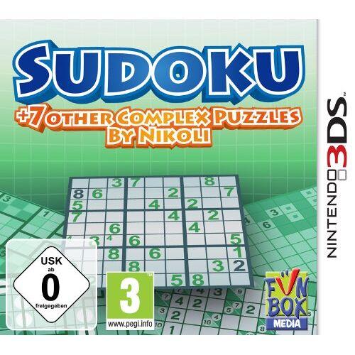 F+F Distribution - Sudoku + 7 other Complex Puzzles by Nikoli - [Nintendo 3DS] - Preis vom 14.06.2021 04:47:09 h