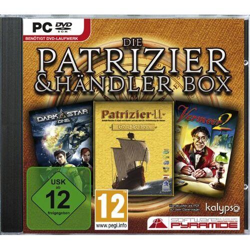 Kalypso - Patrizier + Händler Box (Patrizier 2 Gold, Vermeer 2, Darkstar One) [Software Pyramide] - Preis vom 11.06.2021 04:46:58 h