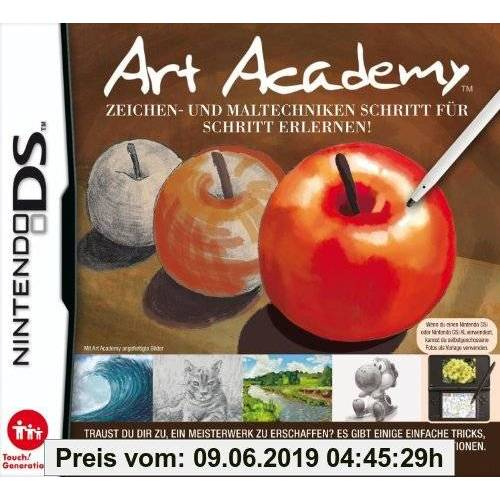 Nintendo Art Academy: Zeichen und Maltechniken