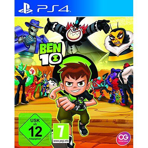 EuroVideo - Ben10 Konsolenspiel, Standard [Playstation 4] - Preis vom 14.04.2021 04:53:30 h