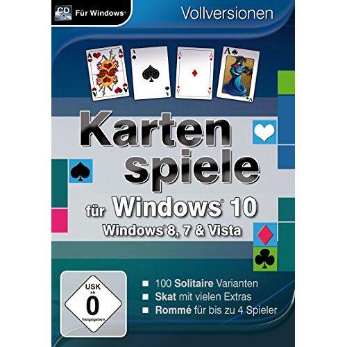 Magnussoft - Kartenspiele für Windows 10 (PC) - Preis vom 09.05.2021 04:52:39 h