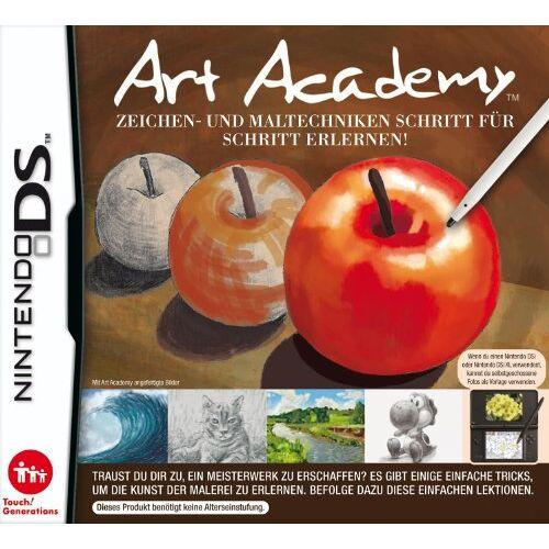 Nintendo - Art Academy: Zeichen und Maltechniken - Preis vom 26.01.2020 05:58:29 h